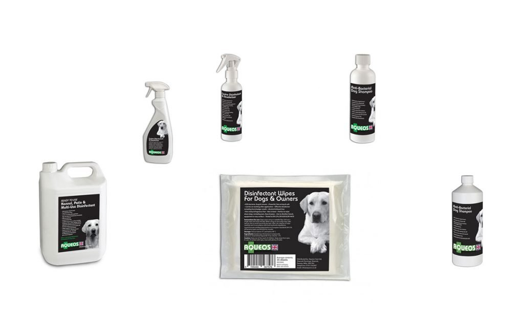Aqueos Canine Disinfectant Products