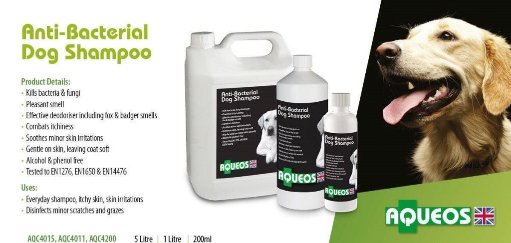 Canine Anti-Bacterial Dog Shampoo